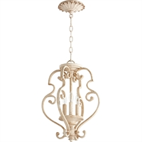 Picture for category Pendants 3 Light With Persian White Finish Candelabra Base Bulbs 14 inch 180 Watts