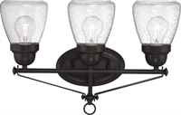 Picture for category Bathroom Vanity 3 Light With Sudbury Bronze Finish E12 Incandescent 19 inch 180 Watts