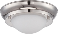 Picture for category Flush Mounts 1 Light With Polished Nickel Finish Warm Dim Panel LED 7 inch 7.8 Watts