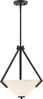 Picture for category Pendants 2 Light With Mahogany Bronze Finish Steel Medium Base 16 inch 200 Watts