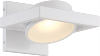 Picture for category Wall Sconces 1 Light With White Tones Finish LED Bulb Type 7 inch 15 Watts