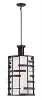 Picture for category Pendants 4 Light With Textured Black Finish Steel Medium Base 14 inch 400 Watts