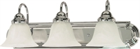 Picture for category Bathroom Vanity 3 Light With Polished Chrome Finish Metal Medium Base 24 inch 300 Watts