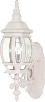 Picture for category Wall Sconces 1 Light With White Tones Finish Aluminum Medium Base 6 inch 100 Watts