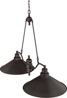 Picture for category Island Lighting 2 Light With Mission Dust Bronze Finish Iron Medium Base 40 inch 300 Watts
