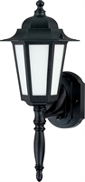 Picture for category Wall Sconces 1 Light With Textured Black Finish Aluminum Material T2 7 inch 13 Watts