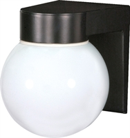 Picture for category Wall Sconces 1 Light With Black Tones Finish Medium Base Bulb Type 6 inch 100 Watts