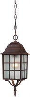 Picture for category Outdoor Pendant 1 Light With Rustic Bronze Finish Aluminum Medium Base 6 inch 100 Watts