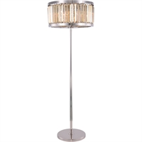 Picture for category Elegant Lighting 1233FL25PN-GT/RC Floor Lamps Polished Nickel Steel Chelsea