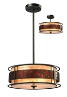 Picture for category Pendants 3 Light With Jaa Bronze Finish Steel Medium Base Bulb 18 inch 300 Watts