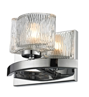 Picture for category Bathroom Vanity 1 Light With Chrome Finish Steel Material G9 Bulb 7 inch 75 Watts