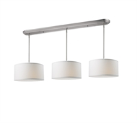 Picture for category Island Lighting 9 Light With Brushed Nickel Finish Steel Medium Base Bulb 16 inch 540 Watts