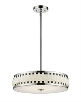 Picture for category Pendants 6 Light With Chrome Finish Steel LED-Integrated Bulb 20 inch 180 Watts