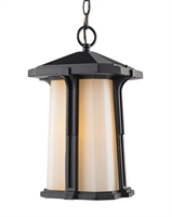 Picture for category Outdoor Pendant 1 Light With Black Finish Aluminum Medium Base Bulb 8 inch 100 Watts