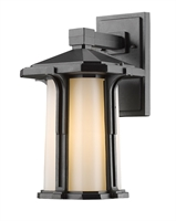 Picture for category Wall Sconces 1 Light With Black Finish Aluminum Medium Base Bulb 10 inch 100 Watts