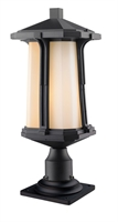 Picture for category Outdoor Post 1 Light With Black Finish Aluminum Medium Base Bulb 9 inch 100 Watts