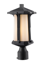 Picture for category Outdoor Post 1 Light With Black Finish Aluminum Medium Base Bulb 8 inch 100 Watts