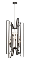 Picture for category Pendants 12 Light With Bronze Finish Steel Candelabra Base Bulb 22 inch 720 Watts