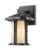 Picture for category Wall Sconces 1 Light With Black Finish Aluminum Medium Base Bulb 7 inch 100 Watts