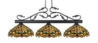 Picture for category Island Lighting 3 Light With Bronze Finish Steel Medium Base Bulb 14 inch 450 Watts