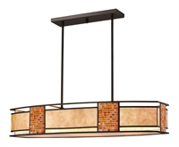 Picture for category Island Lighting 4 Light With Bronze Finish Steel Medium Base Bulb 17 inch 400 Watts