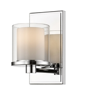 Picture for category Bathroom Vanity 1 Light With Chrome Finish Steel LED-Integrated Bulb 5 inch 8 Watts