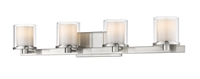 Picture for category Bathroom Vanity 4 Light With Brushed nickel Finish Steel LED-Integrated Bulb 32 inch 32 Watts
