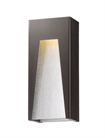 Picture for category Wall Sconces 1 Light With Bronze Silver Finish Aluminum Material LED-Integrated 8 inch 14 Watts