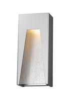 Picture for category Wall Sconces 1 Light With Silver Finish Aluminum Material LED-Integrated 8 inch 14 Watts
