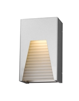 Picture for category Wall Sconces 1 Light With Silver Finish Aluminum Material LED-Integrated 6 inch 12 Watts