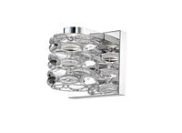 Picture for category Wall Sconces 1 Light With Chrome Finish Steel Material LED-Integrated 5 inch 5 Watts