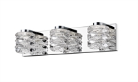 Picture for category Bathroom Vanity 3 Light With Chrome Finish Steel Material LED-Integrated 20 inch 15 Watts