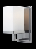 Picture for category Bathroom Vanity 1 Light With Brushed Nickel Finish Steel Medium Base Bulb 5 inch 100 Watts