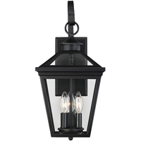 Picture for category Savoy House Lighting 5-141-BK Wall Sconces Black Steel Ellijay