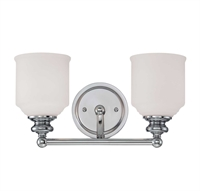 Picture for category Savoy House Lighting 8-6836-2-11 Bath Lighting Polished Chrome Melrose
