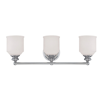 Picture of Savoy House Lighting 8-6836-3-11 Bath Lighting Polished Chrome Melrose