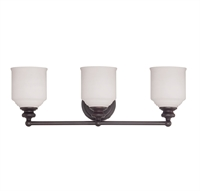 Picture for category Savoy House Lighting 8-6836-3-13 Bath Lighting English Bronze Melrose