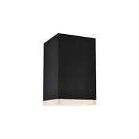 Picture for category Avenue Lighting AV9888-BLK Outdoor Wall Sconces Black Aluminum/Acrylic Signature