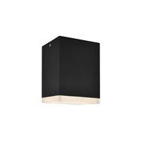 Picture for category Avenue Lighting AV9889-BLK Outdoor Wall Sconces Black Aluminum/Acrylic Signature