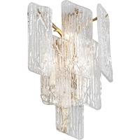 Picture for category Corbett Lighting 244-13 Wall Sconces Royal Gold Hand-Crafter Iron and Handmade Glass Piemonte
