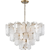 Picture for category Corbett Lighting 244-412 Chandeliers Royal Gold Hand-Crafter Iron and Handmade Glass Piemonte