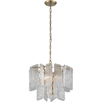 Picture for category Corbett Lighting 244-44 Chandeliers Royal Gold Hand-Crafter Iron and Handmade Glass Piemonte