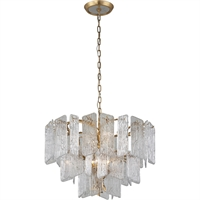 Picture for category Corbett Lighting 244-48 Chandeliers Royal Gold Hand-Crafter Iron and Handmade Glass Piemonte