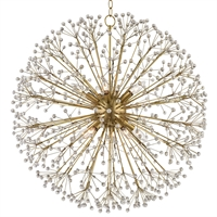 Picture for category Chandeliers 10 Light With Aged Brass Finished Candelabra Bulbs 29 inch 600 Watts