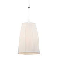 Picture for category Pendants 1 Light With Polished Nickel Finish Medium Base Bulbs 22 inch 60 Watts