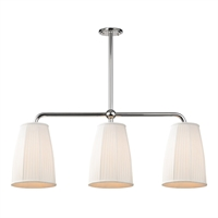 Picture for category Island Lighting 3 Light With Polished Nickel Finish Medium Bulbs 10 inch 180 Watts