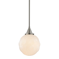 Picture for category Pendants 1 Light With Satin Nickel Finished Medium Base Bulbs 16 inch 100 Watts