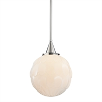 Picture for category Pendants 1 Light With Polished Nickel Finish Medium Base Bulbs 20 inch 150 Watts