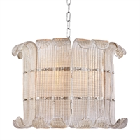 Picture for category Chandeliers 8 Light With Polished Nickel Finished Medium Bulbs 16 inch 600 Watts