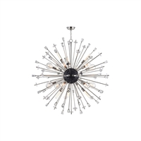 Picture for category Chandeliers 6 Light With Polished Nickel Finish E26 Bulb Type 60 inch 450 Watts